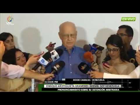 Venezuela. Lo que dijo Aristeguieta Gramcko de su detención y de las presidenciales -VPItv