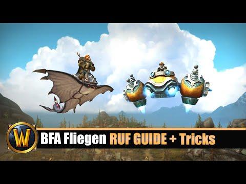 BFA Fliegen - RUF GUIDE - Tipps & Tricks  - [Pfadfinder Von Battle For Azeroth, Teil Zwei]