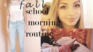 One of Hannah Blair's most viewed videos: Fall School Morning Routine 2014 | Hannah Blair