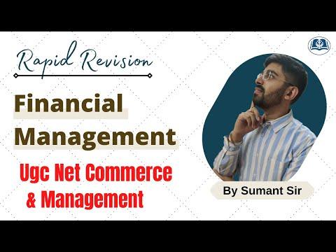 Rapid Revision | Business Finance | UGC Net Commerce | Management