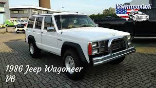1986 Jeep Wagoneer V8 | VS-import.nl