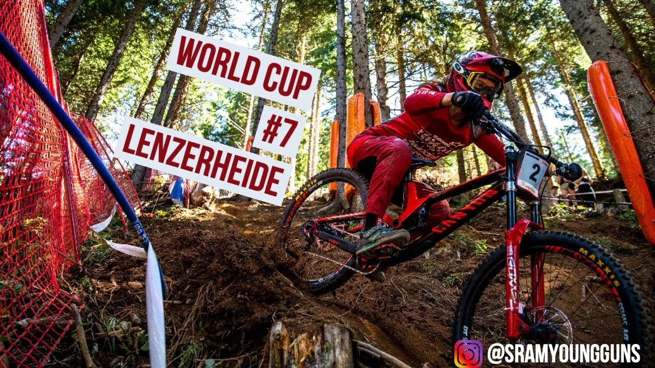 UCI Downhill World Cup #7 Lenzerheide Recap