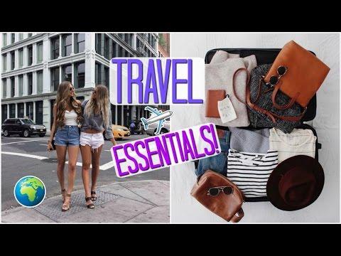 Travel Essentials // How I Pack