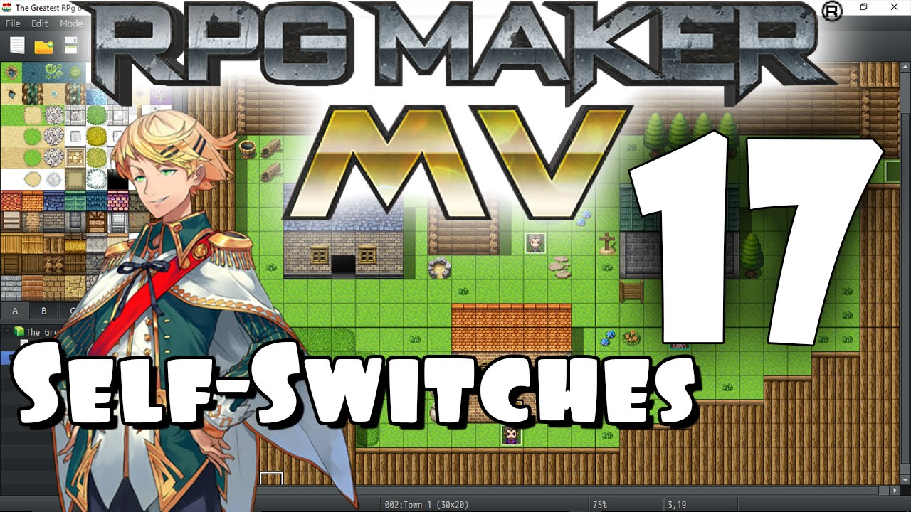 RPG Maker MV Tutorial #17 - Self-Switches!