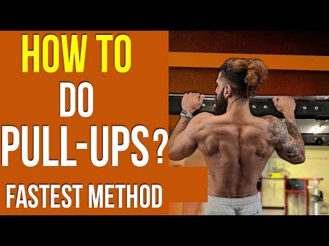 HOW TO DO PULL UPS ? (Fastest Way) | Tips to INCREASE PULLUPS for BEGINNERS from YouTube · Duration:  7 minutes 57 seconds