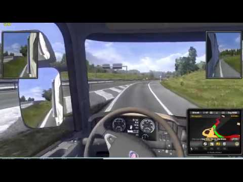 #Livestream - Primeiros Minutos No Euro Truck Simulator 2; DEMO LANÇADA!