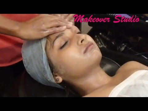 TV Actress Neha is getting Facial thumbnail