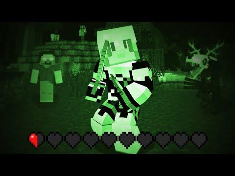 Minecraft MAIS l'obscurité tue (Herobrine aussi !)