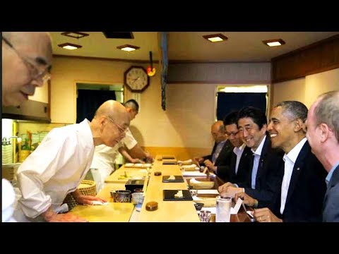 「すきやばし次郎」小野二郎がオバマ前大統領の訪問時のエピソードを語る/映画『世界が愛した料理人』本編映像