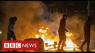 Worst violence in Belfast for years as British and Irish leaders call for calm - BBC News