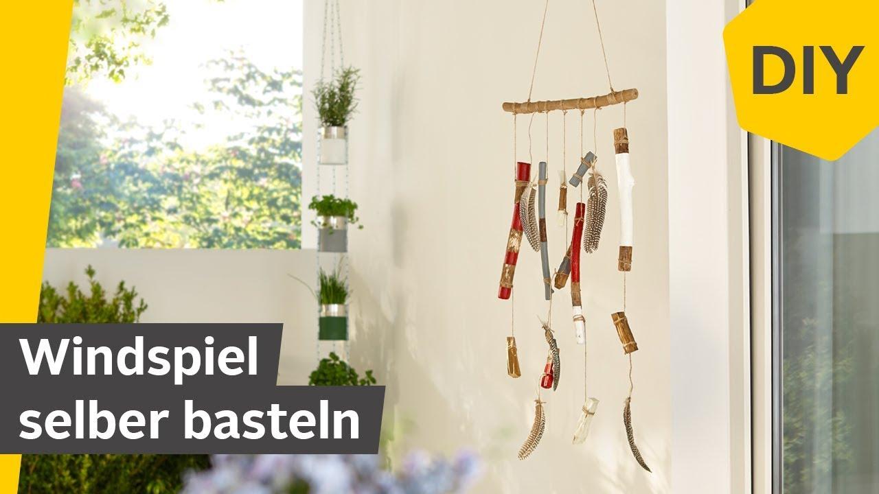 Windspiel Selber Bauen Diy Mit Holz Federn Roombeez Powered