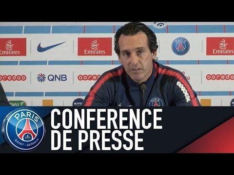Paris Saint-Germain Press Conference PARIS vs BORDEAUX