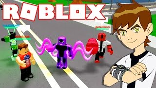 Roblox → incredibile simulatore di BEN 10! -Ben 10 lotta gioco 🎮