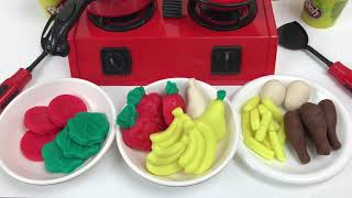 Miniature Cooking for Kids - Pretend Cooking with Play Doh.