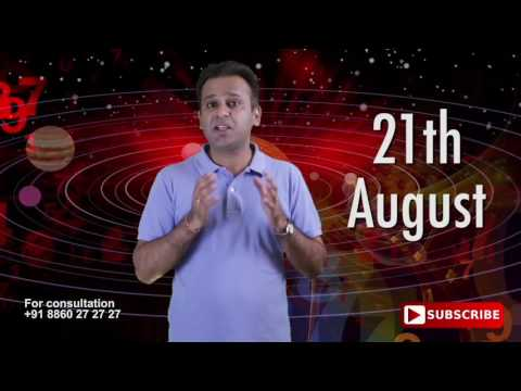 Astrological Prediction For 21st August Born | Astrology Planets