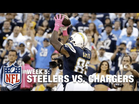 Antonio Gates Scores His 100th Career TD! | Steelers vs. Chargers | NFL