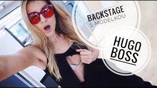 Den modelky: Zákulisí práce pro Hugo Boss | Jitka Nováčková