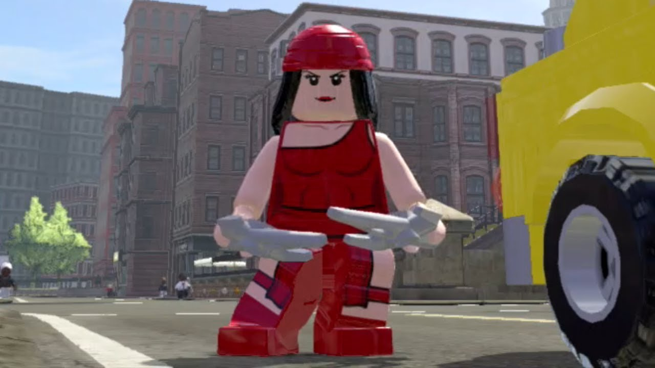 Lego Marvel Super Heroes - Elektra Unlock Guide - YouTube