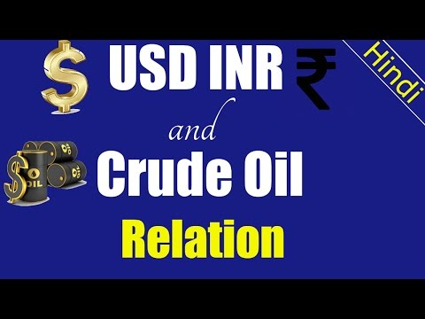 USD INR and Crude Oil relation | Crude oil me kese trading kare