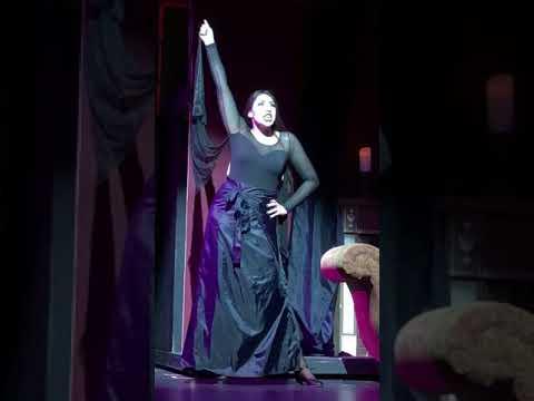 Sophia in Addams Family Musical - Smithtown High School West - Secrets