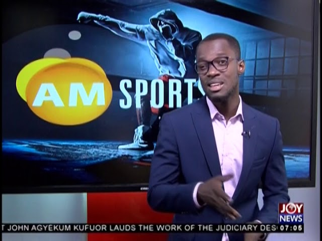 AFCON 2019 - AM Sports on JoyNews (13-12-18)