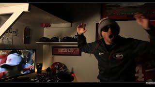 Georgia Wins Rose Bowl Fan Reaction