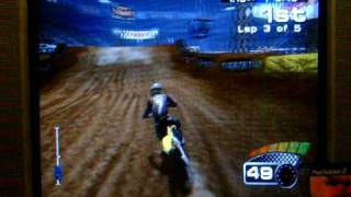 MX 2002 Featuring Ricky Carmichael PS2 250cc Supercross Race