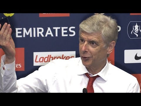 Arsene Wenger Full Press Conference After Arsenal Win FA Cup - Arsenal 2-1 Chelsea
