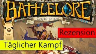 Battlelore: Zweite Edition (Brettspiel) ♦ Anleitung & Rezension ♦ SpieLama