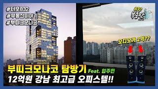 12억 강남 럭셔리 오피스텔 탐방기 : 부띠크모나코 (…