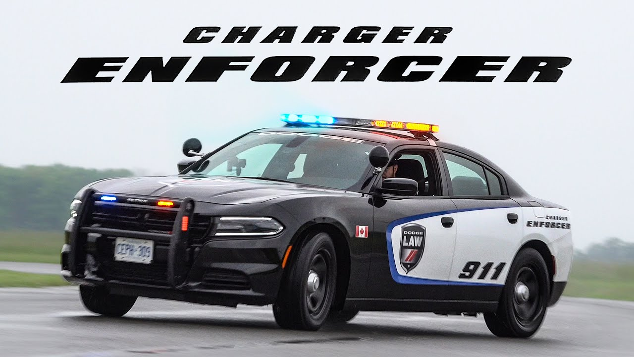 2019 Dodge Charger Enforcer Police Car Review What It S Like To Be A Cop Youtube