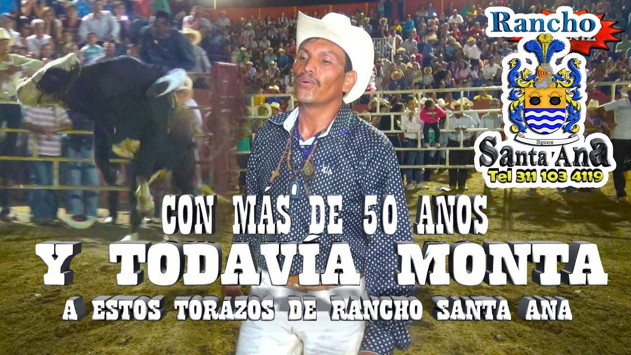 CON MÁS DE 50 AÑOS Y …¡¡TODAVÍA MONTA!! A ESTOS TORAZOS DE RANCHO SANTA ANA - YouTube