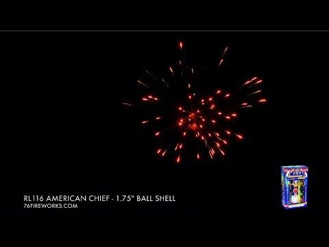 "RL116 American Cheif - 1.75"" Ball Shell w/ Tail"