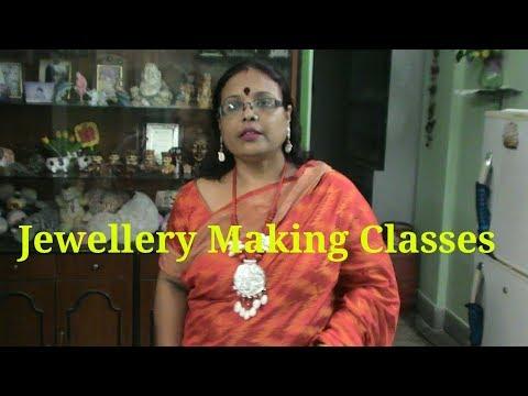 Jewellery Making Tutorial Part - 2 / Debjani Creations Tutorial