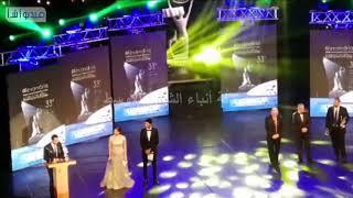 عمرو سعد في الحفل الختامي لمهرجان الاسكندرية السينمائي لدول حوض البحر المتوسط