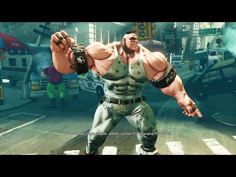 Street Fighter 5 - Abigail's Story Mode