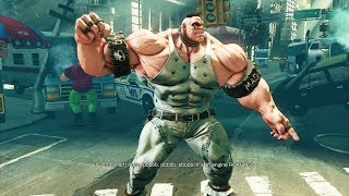 Street Fighter 5 - Abigail's Story Mode