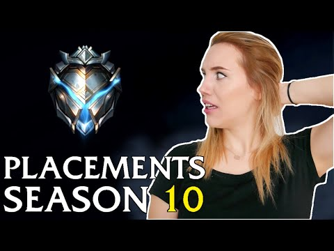 Season 10 Placements [edit. Gameplay]