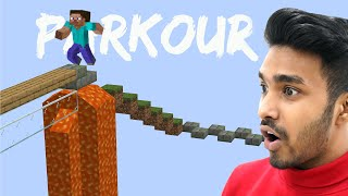 LONGEST PARKOUR IN MINECRAFT | UJJWAL GAMER
