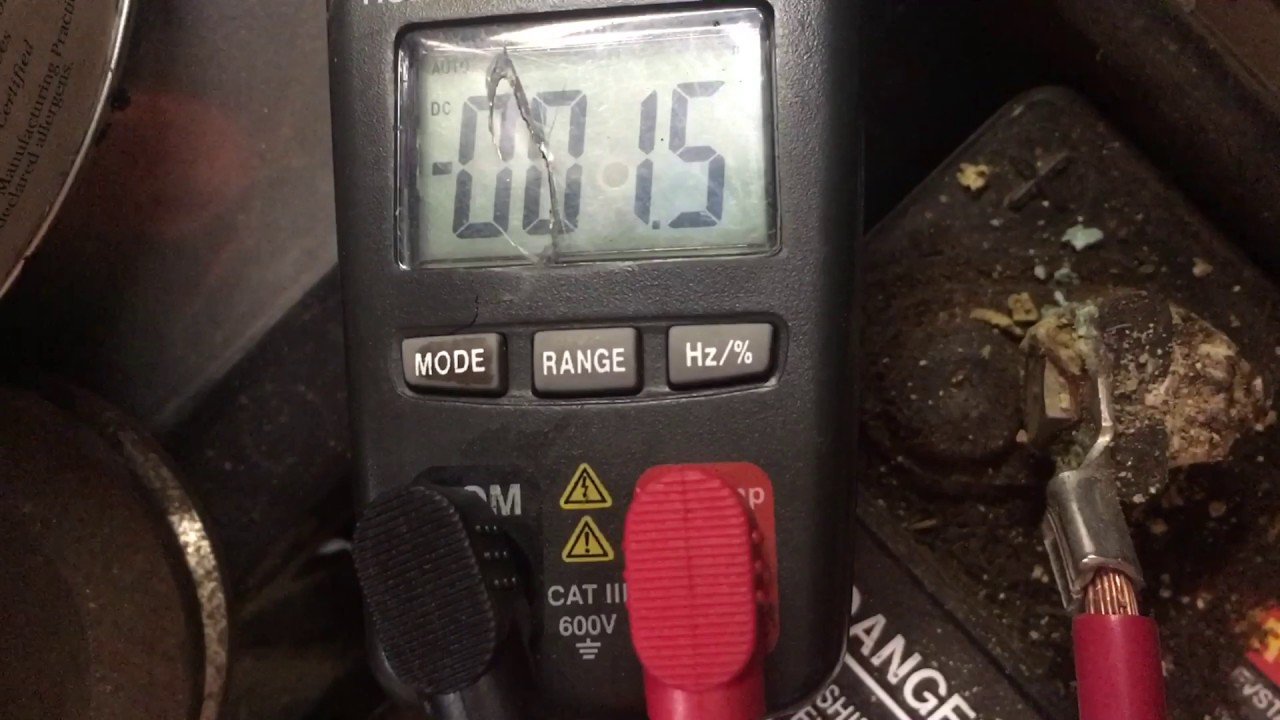 How To Voltage Drop Test The Battery Connections On A Riding Mower Lawn Ignition Switch