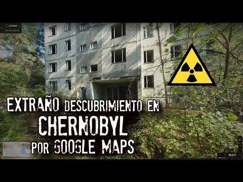 Extraño descubrimiento en Chernobyl por Google Maps