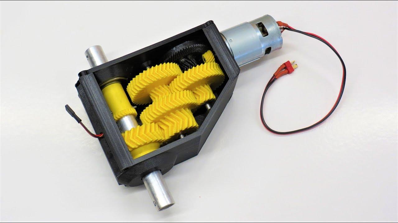 3 Single Servo Power Gearbox Arm