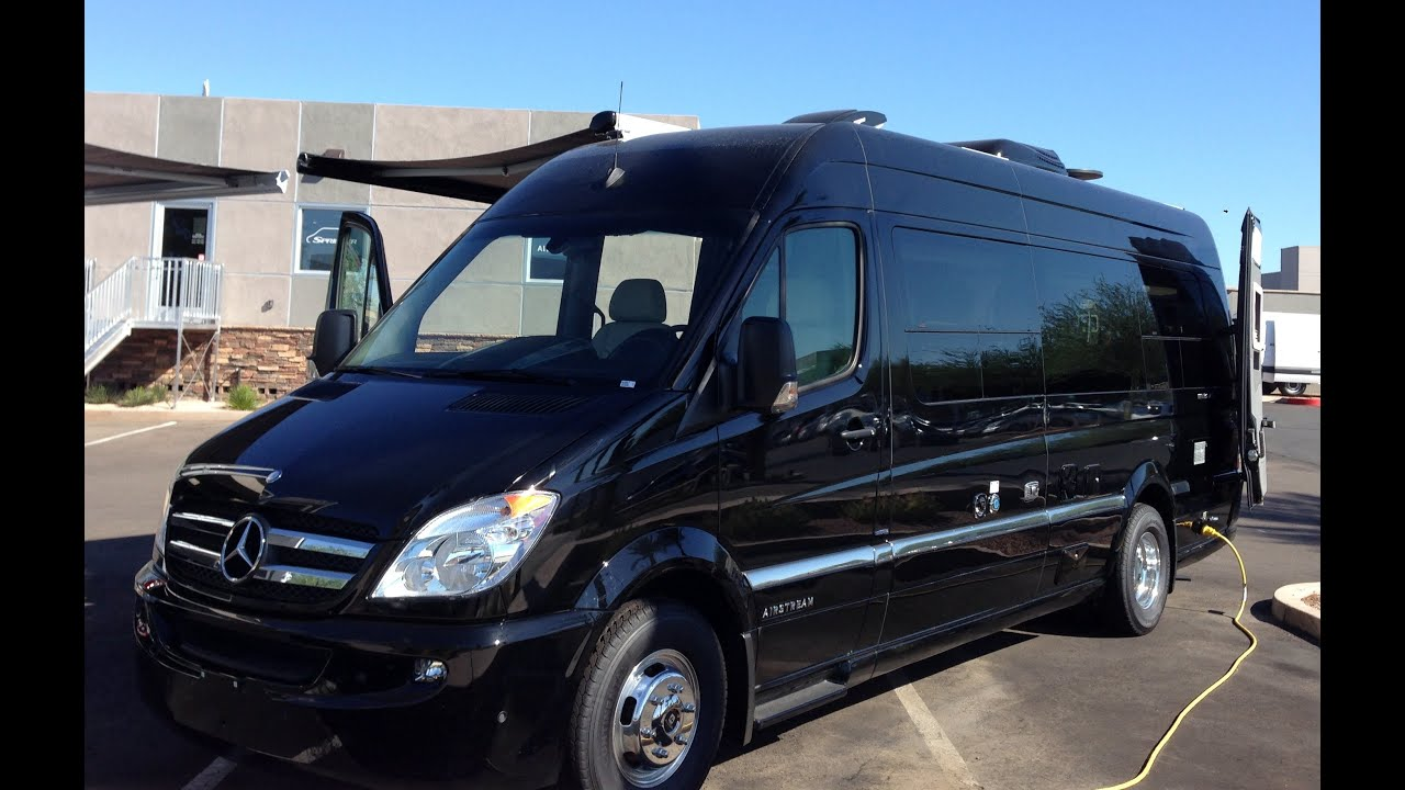 New 2014 mercedes benz sprinter van airstream interstate for Mercedes benz airstream interstate