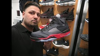 UNRELEASED JORDAN 5 BRED SATIN!!! WILL THEY SIT OR SELLOUT?