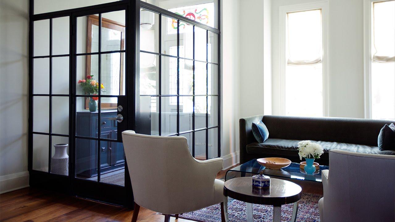 interior design a modern meets farmhouse home youtube. Black Bedroom Furniture Sets. Home Design Ideas