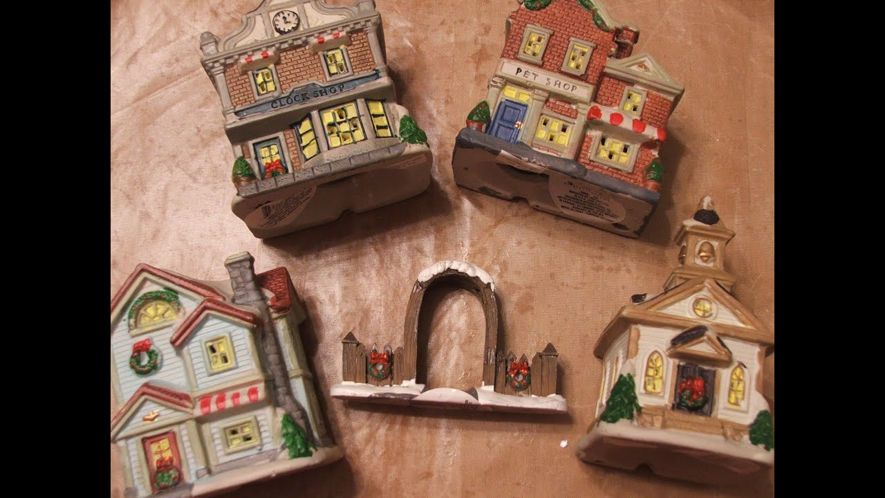 2020 Dollar Tree Christmas Village Dollar Tree Christmas Village   Come LOOK!!! you might be