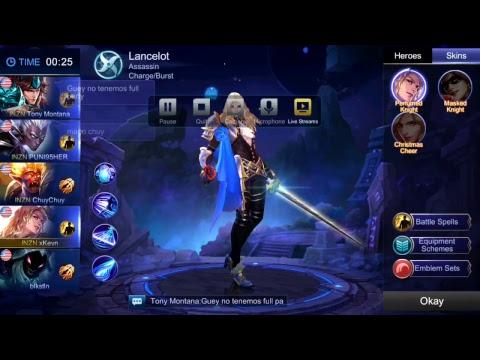Mobile Legends Rank Live Stream