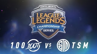Video 100 vs. TSM - Week 7 Day 2 | NA LCS Spring Split | 100 Thieves vs. TSM (2018) download MP3, 3GP, MP4, WEBM, AVI, FLV Juni 2018