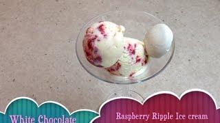 White Chocolate Raspberry Ripple Ice Cream Cheekyricho Tutorial