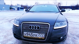 Тест Драйв Audi A6 Allroad, обзор Ауди Олроуд за 1 000 000 рублей!